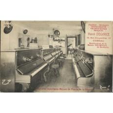 CPA: COGNAC, Publicité Henri DEGORCE, Pianos/Musique, vers 1910