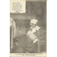 CPA: BREIZH, Les Chansons de Botrel, vers 1910 (1)