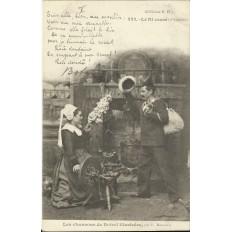 CPA: BREIZH, Les Chansons de Botrel, vers 1910 (3)