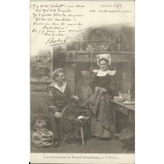CPA: BREIZH, Les Chansons de Botrel, vers 1910 (4)