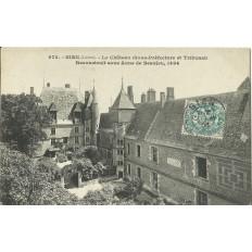 CPA: GIEN - Le Chateau - Années 1900