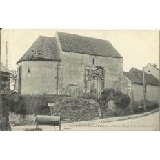 CPA: FERRIERES-en-GATINAIS, Vielle Chapelle de Saint-Lazare, Années 1900