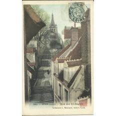 CPA: GIEN - Rue des 35 degrés - Années 1900