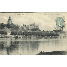 CPA: GIEN - Vue Générale - Années 1900