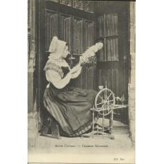 CPA: NORMANDIE, Ancien Costume , vers 1900