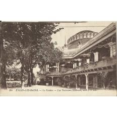 CPA: EVIAN-LES-BAINS. Le Casino, Les Terrasses, Années 1910.