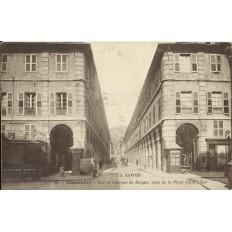 CPA: CHAMBERY, Rue de la Colonne de Boignes, Années 1900
