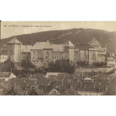 CPA: ANNECY, Chateau des Ducs de Nemours. Années 1920 .