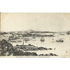 CPA: Vue Générale de la Rade et du Port de FORT-DE-FRANCE, vers 1900.