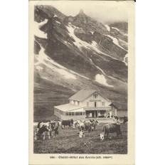 CPA: Chalet-Hotel des ARAVIS. Années 1920 .