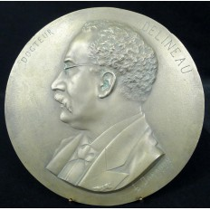 Charles Joseph LAURENT-DARAGON (1833-1904), Dr.DELINEAU, 1879, MEDAILLON.